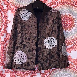 Linda Allard Ellen Tracy 10 Blazer Jacket Coat